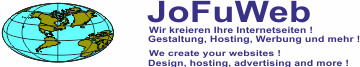 JoFuWeb Design & Hosting